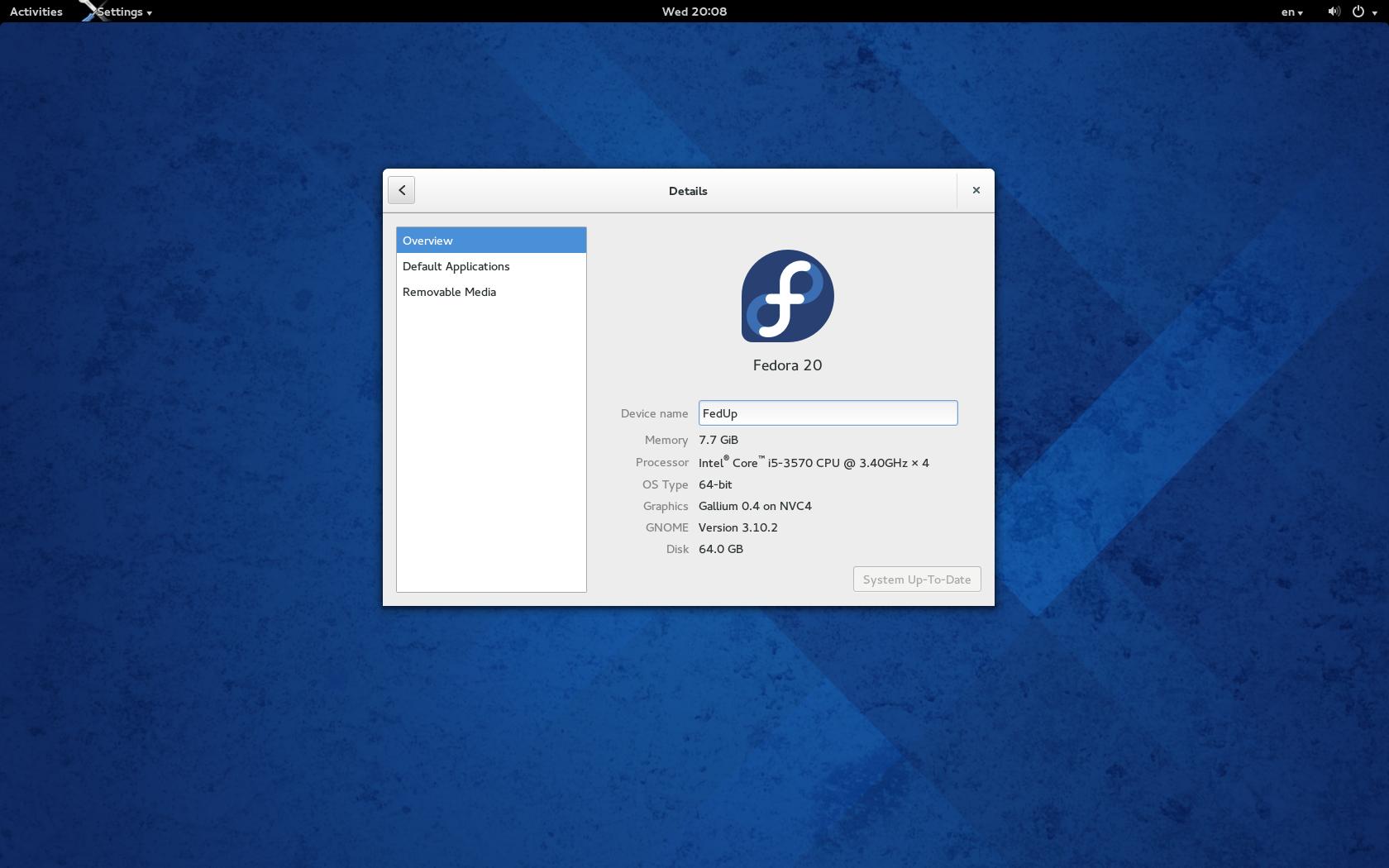 Download fedora 20 – linux.