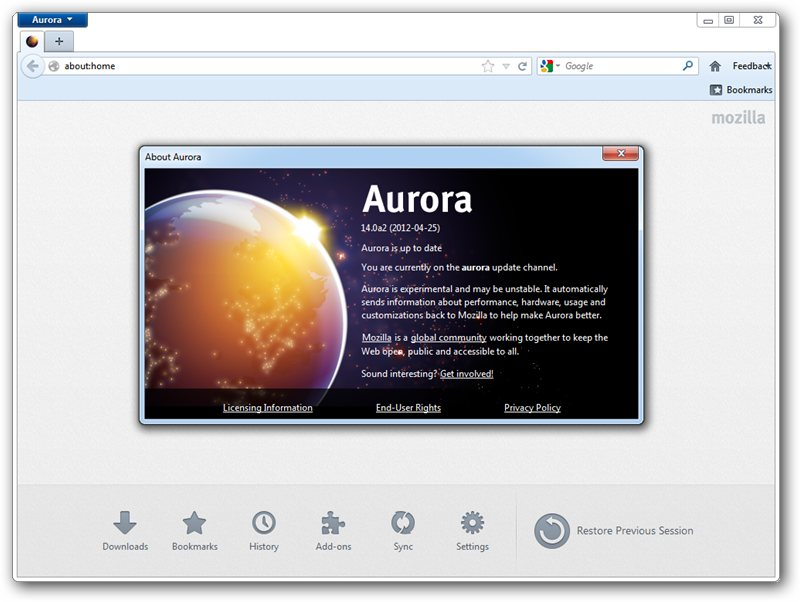 Download Mozilla Firefox Aurora for Linux 22 0a2 – Linux
