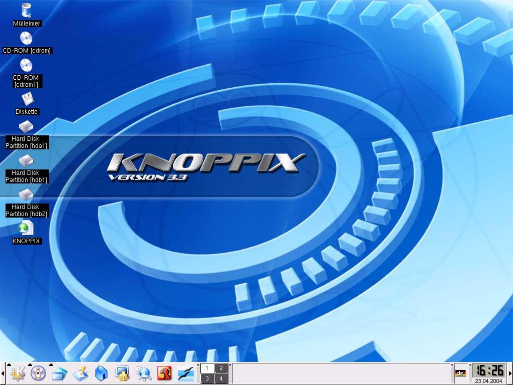 LINUX TÉLÉCHARGER KNOPPIX CD LIVE