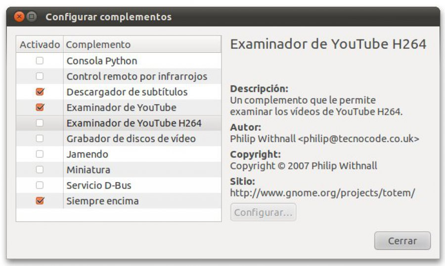 Download Totem Youtube H264 Plugin 0 0 1 – Linux