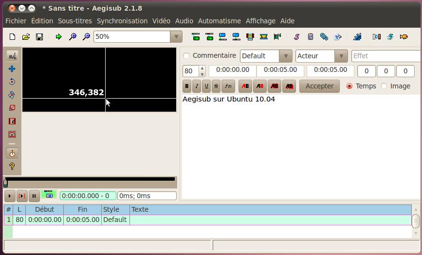 Download AegiSub for Ubuntu 3 0 4 (32 bits) – Linux