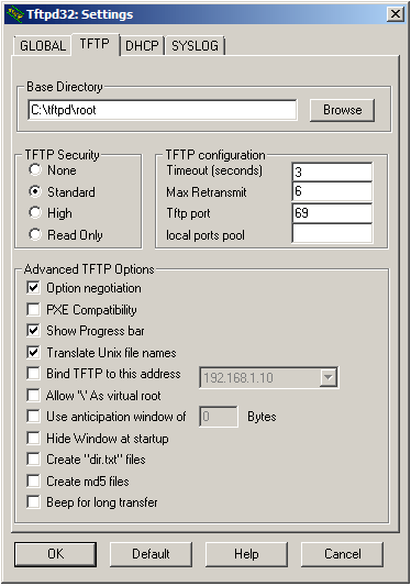 Download Tftpd32 for Linux 4 0 – Linux