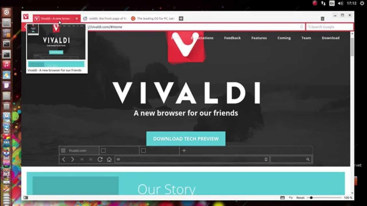 Download Vivaldi for Ubuntu TP4 (32-bit) – Linux