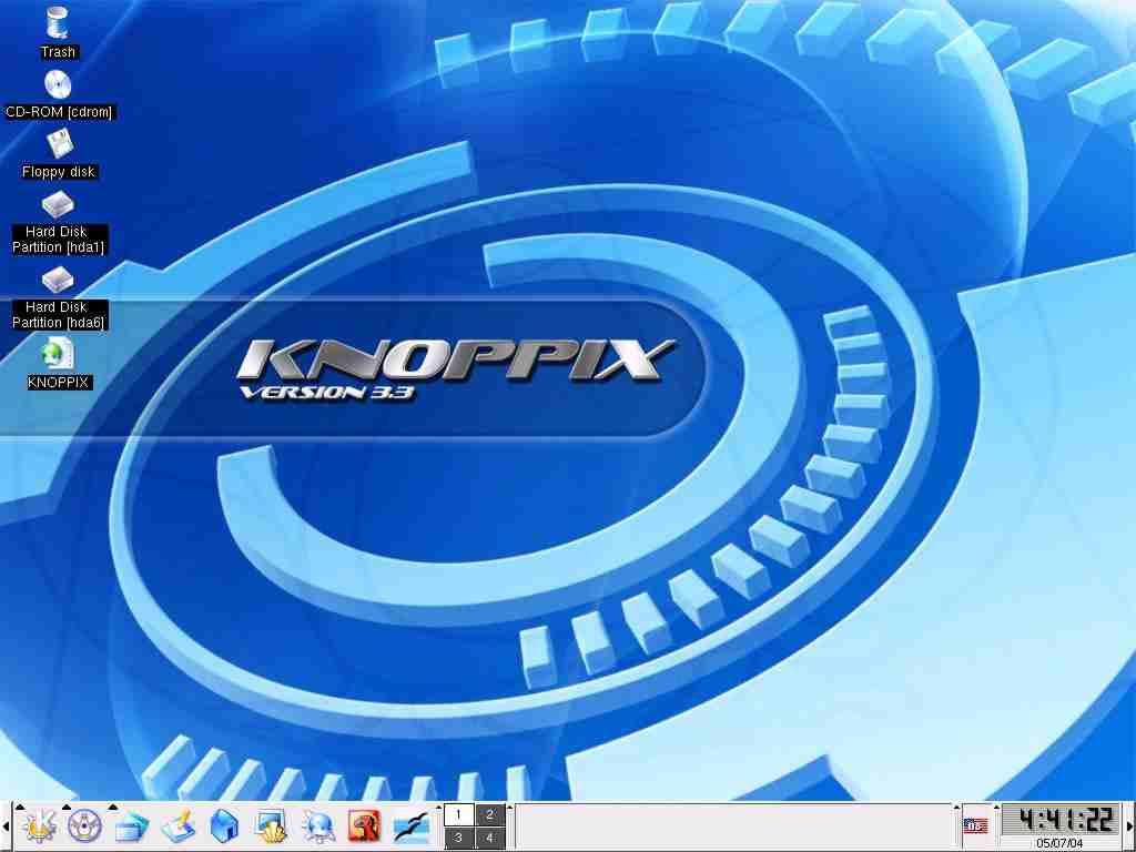 knoppix 5