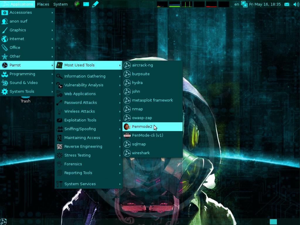 parrot linux 32 bit iso download
