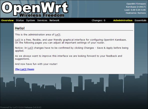 Download OpenWrt 15 05 – Linux