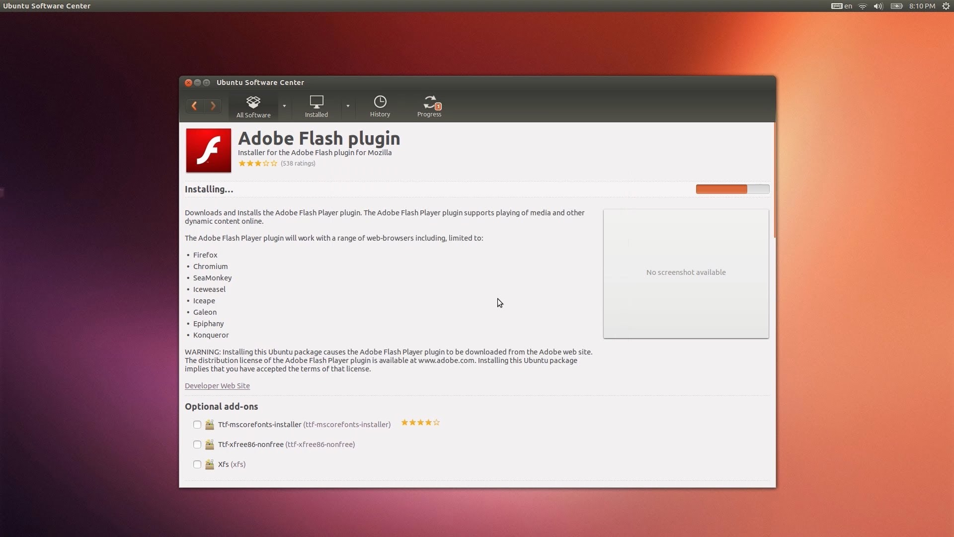 flash player android 11.2.0