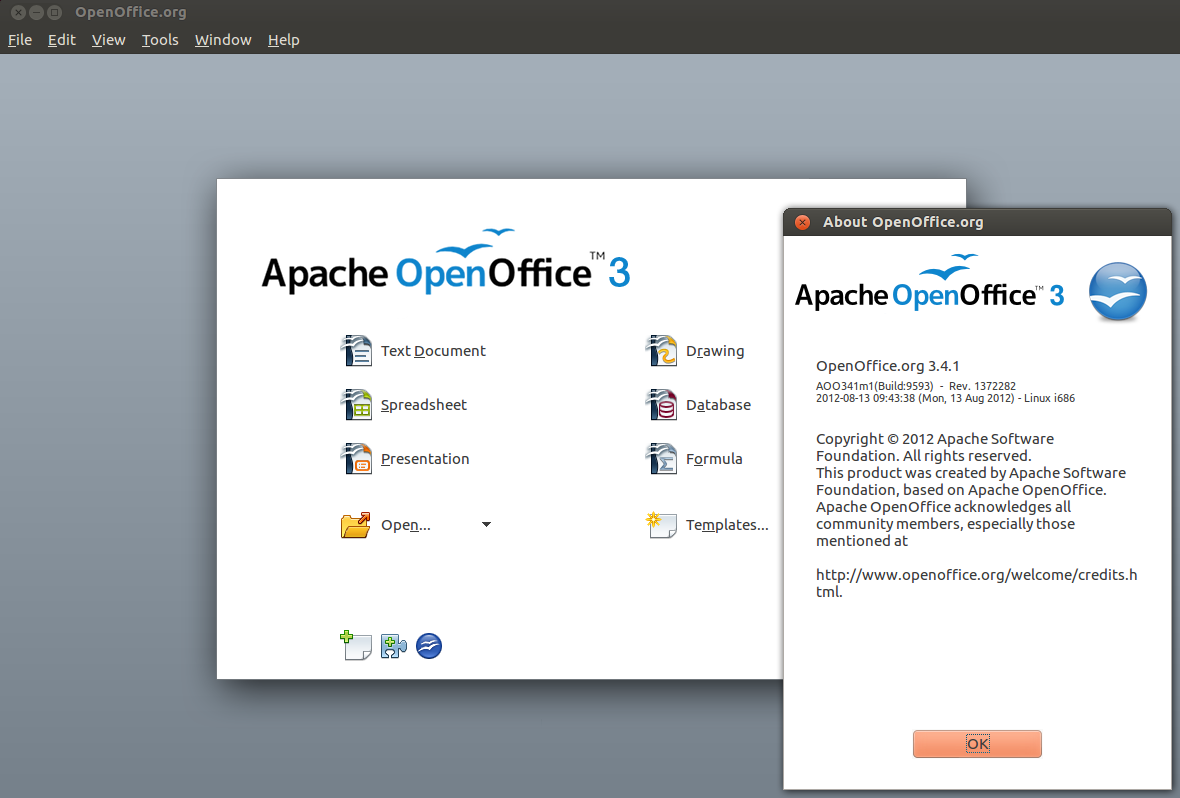 Download Apache OpenOffice 4 1 2 – Linux