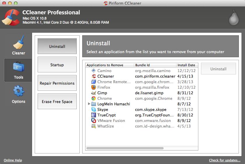 ccleaner download para mac