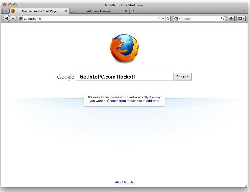 Download Mozilla Firefox for Mac 37 0 2 – Mac