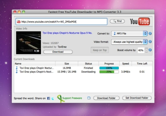 Download free youtube converter for mac 1. 0. 20 – mac.