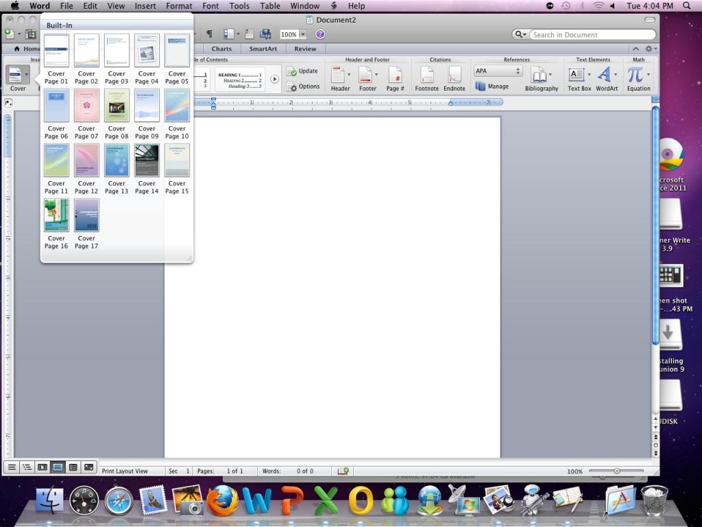 Microsoft Office 2008 For Maceverinsight