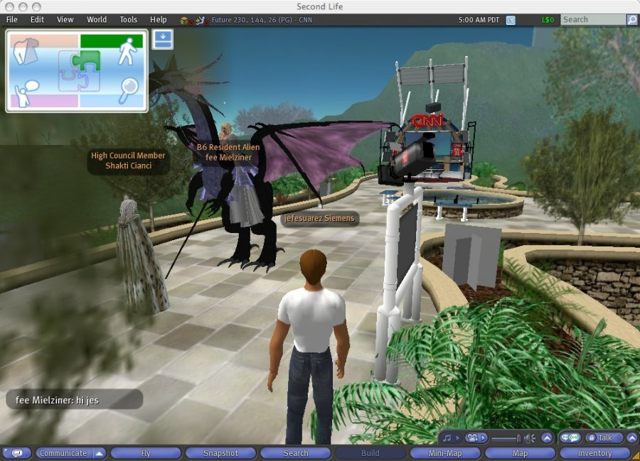 Sites Like Second Life