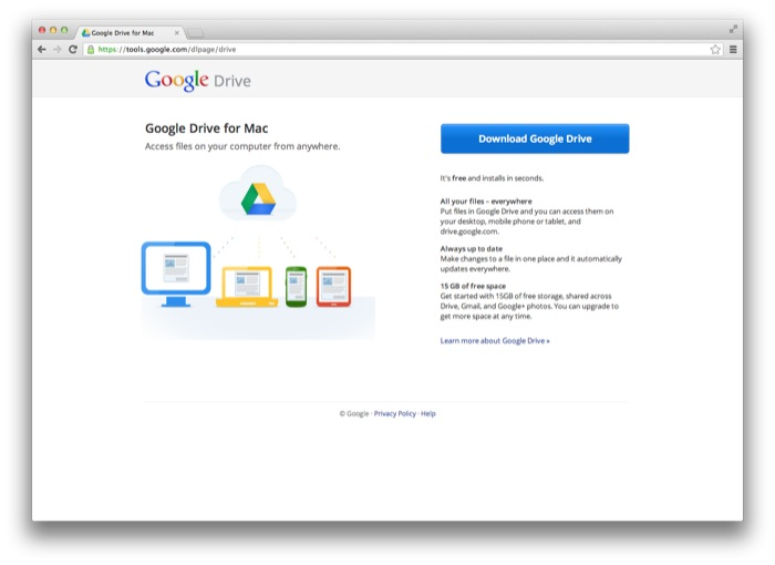 download stuff from google drive