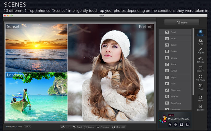 Download Fotor Photo Editor 2 0 3 – Mac