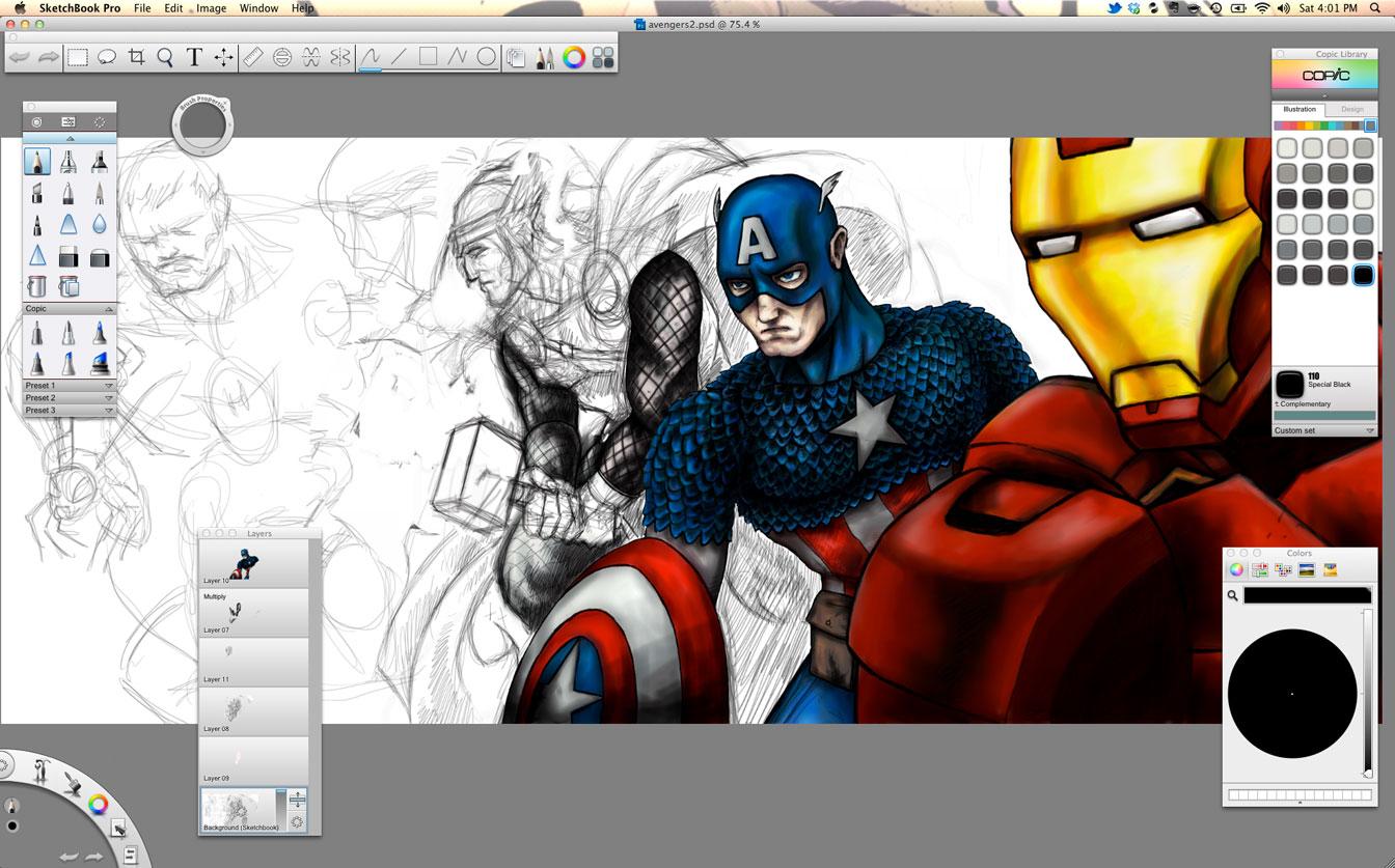 Download Autodesk Sketchbook Pro 8 0 0 Mac