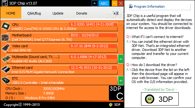 Download 3DP Chip 15 03 – Windows