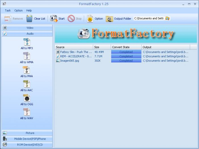 Download FormatFactory 3 6 1 – Windows
