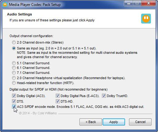 Download Media Player Codec Pack 4 5 3 – Windows