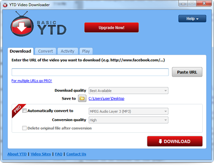 youtube desktop app windows 7