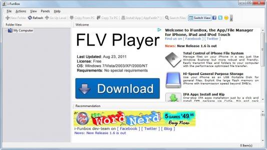 Download iFunBox 2 95 Beta – Windows