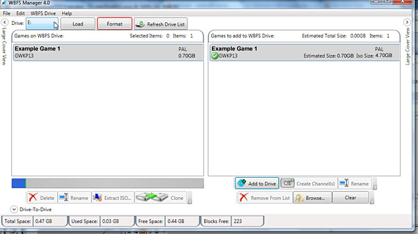 descargar wii backup manager windows 7 64 bits