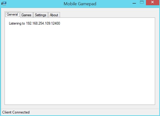 Mobile GamePad Server Скачать