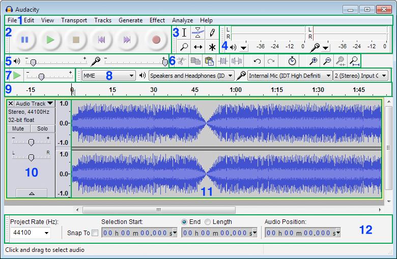 Download Audacity Portable 2 3 2 – Windows