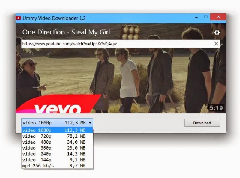 ummy video downloader latest version for pc