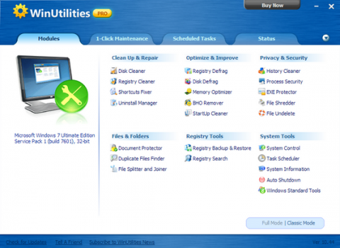 Download Free Best WinUtilities Crack + Serial Key