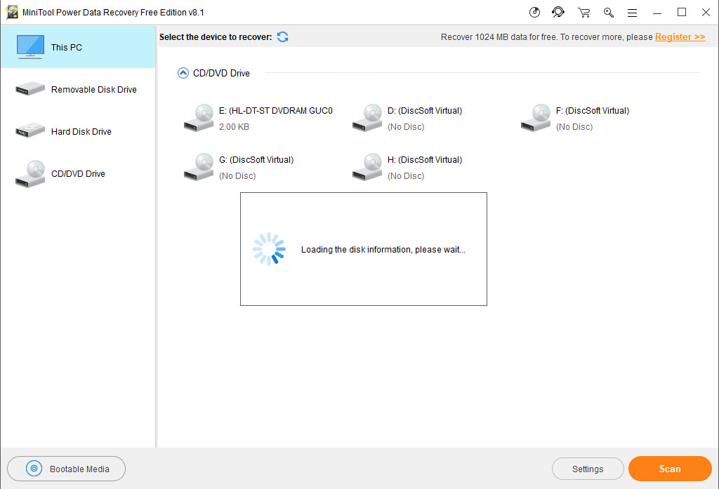 minitool power data recovery 8.1 code