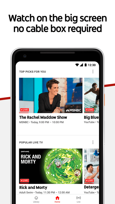 Download YouTube TV 3 12 2 – Android