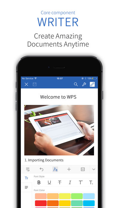 Download WPS Office for iPhone 7 7 0 – iPhone